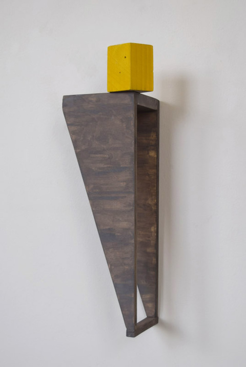 MARIAN CAROW Wall Mounted Sculpture (Material Inquiries) 2015-Current        Wood, Acrylic