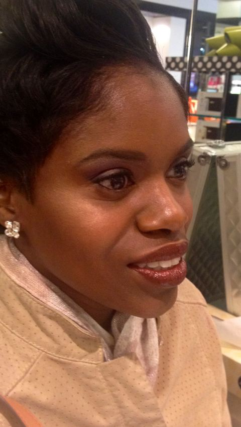 Makeup Bloomingdale's Laura Mercier event.