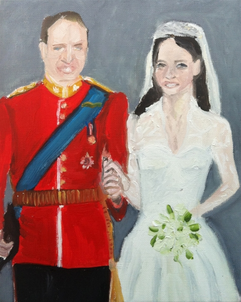 Portraits Royal couple