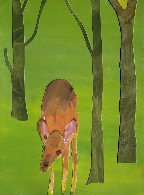 Figurative Collages Deer