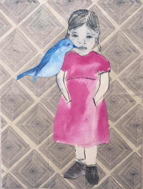 Figurative Collages Bird Song
