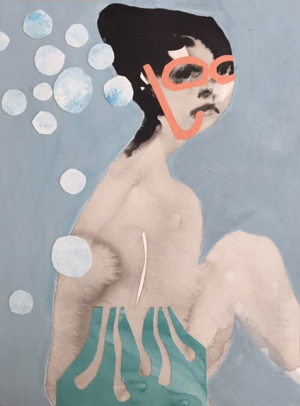 Figurative Collages Under the Sea I