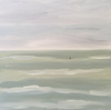 The Sea oil on canvas