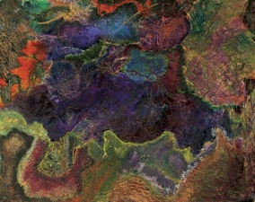 Marjorie Magidow Schalles Earth Art images Mixed Media on Board