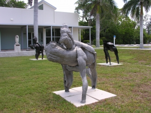 "Mark Anderson Sculpture Gallery 1 57"" x 40"" x 52"""