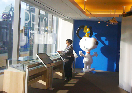 Marks + Spaces MetLife Brand Experience