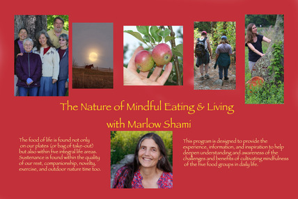 Marlow D.J. Shami Midful Eating Meditation & Outdoor Ramble