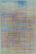 Marsha Goldberg Excerpts (Smoke Rises), colored pencil, 2015 colored pencil on tranlucent Yupo