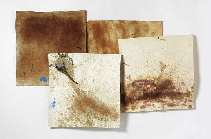 Marsha Nouritza Odabashian Paintings: EXPUNGE, 2015 Compressed Cellulose Sponge