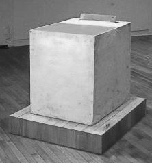 Martha Schlitt BRICKS AND PLASTER school desk, chair, plaster