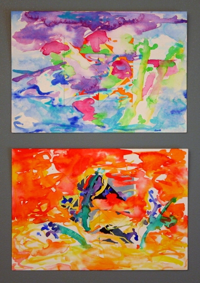 Works on Paper WC on Paper