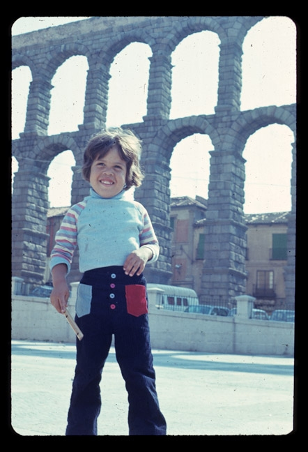 Family Photos Miguel, Roman Aqueduct, Segovia, Spain