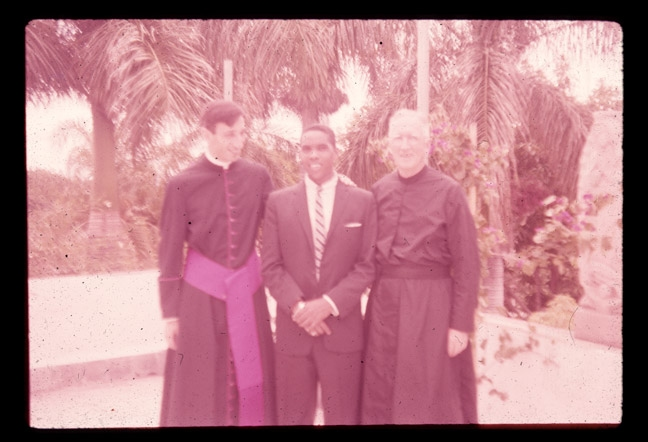 Family Photos Monsignor Ivan Illich, on left, my father's mentor, Ponce, PR
