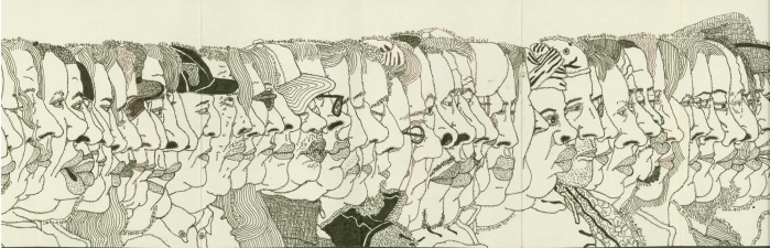 MARTIN WILNER 2003 Pen and Ink on Paper