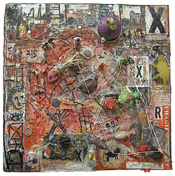 Marty Greenbaum Tabletops mixed media