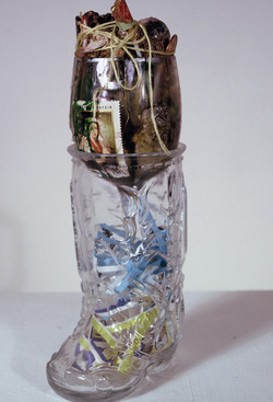 Marty Greenbaum Freestanding mixed media