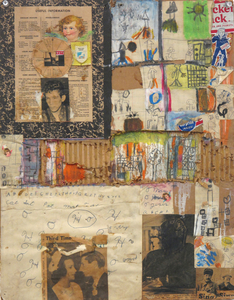 Marty Greenbaum Coney Island mixed media