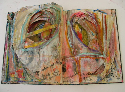 Marty Greenbaum 1980's mixed media