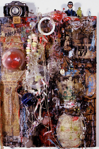 Marty Greenbaum Wall Reliefs mixed media