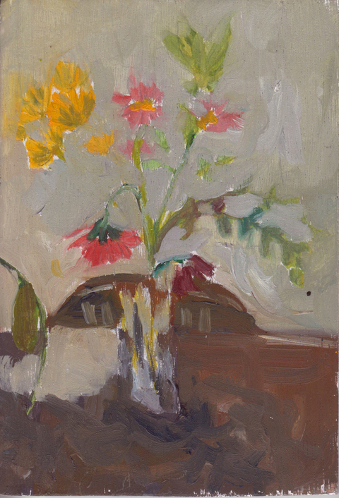 The Kitchen Paintings, 2013 06. flowers