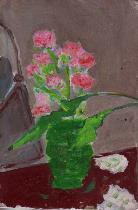 The Kitchen Paintings, 2013 08. flowers