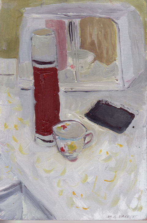 The Kitchen Paintings, 2013 12. thermos