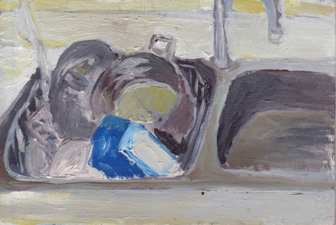 The Kitchen Paintings, 2013 13. sink