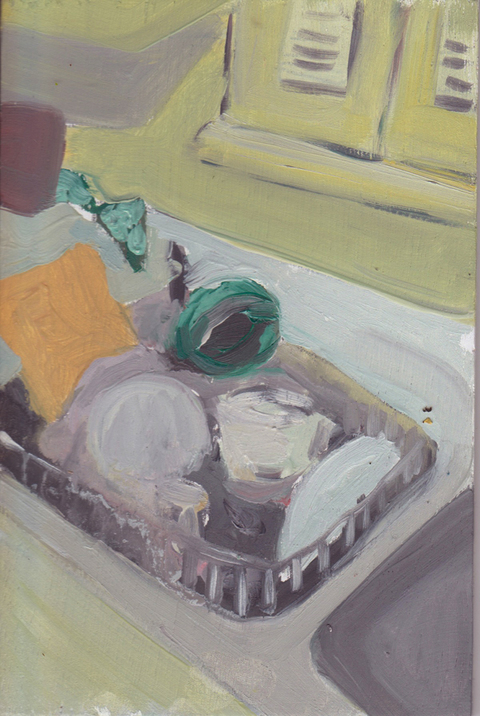 The Kitchen Paintings, 2013 18. sink