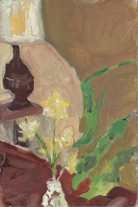 The Kitchen Paintings, 2013 26. daffodils