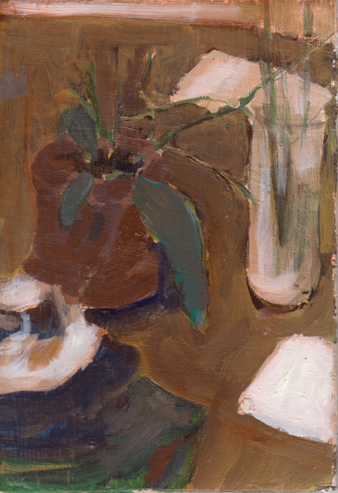 The Kitchen Paintings, 2013 19. plant