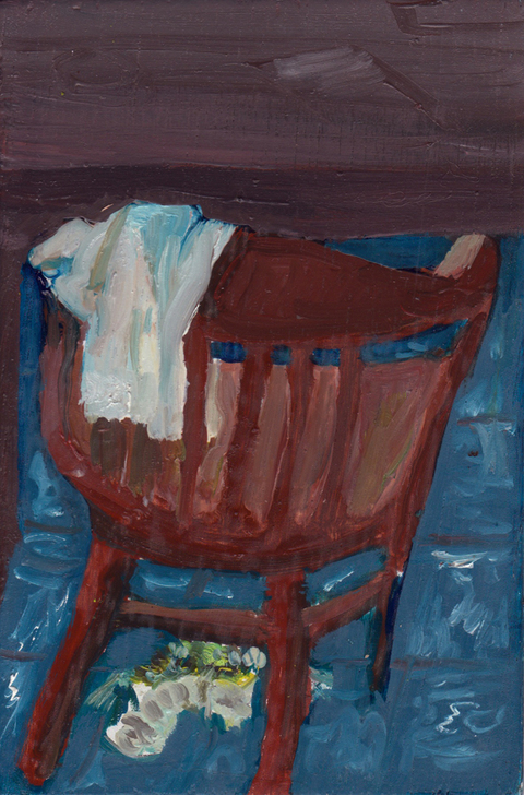 The Kitchen Paintings, 2013 24. chair