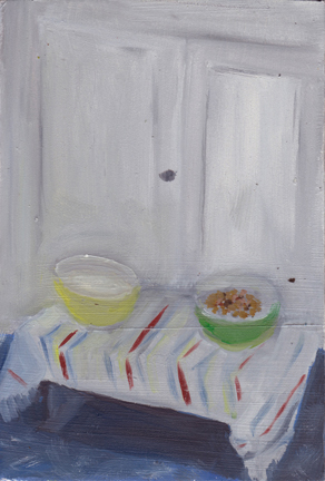 The Kitchen Paintings, 2013 30. kibble