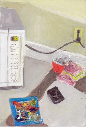 The Kitchen Paintings, 2013 50. palette