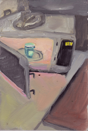 The Kitchen Paintings 43. Reheat