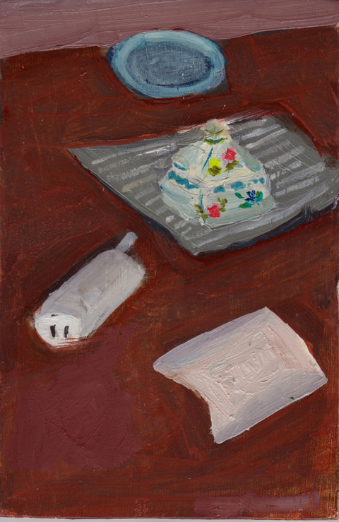 The Kitchen Paintings 49. Cordless Phone