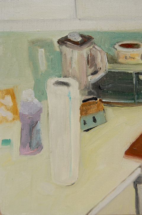 The Kitchen Paintings, 2013 46. paper towels