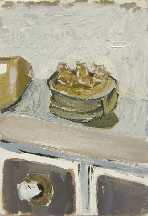 The Kitchen Paintings 38. Wise Monkeys