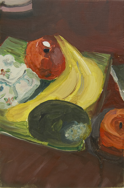 The Kitchen Paintings, 2013 36.fruit