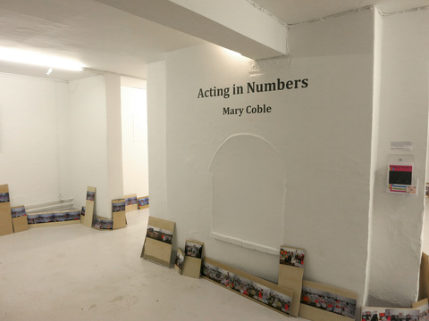 MARY COBLE ACTING IN NUMBERS at Galleri Image, Aarhus, Denmark, 2018