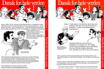 Dansk for hele verden (Danish for the whole world) Posters, 2011