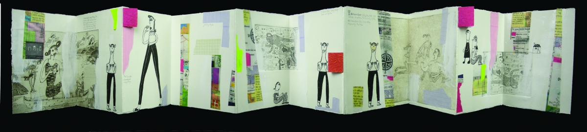 Mary Jones Artists' Books mixed
