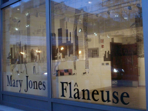 Mary Jones Flâneuse Installations