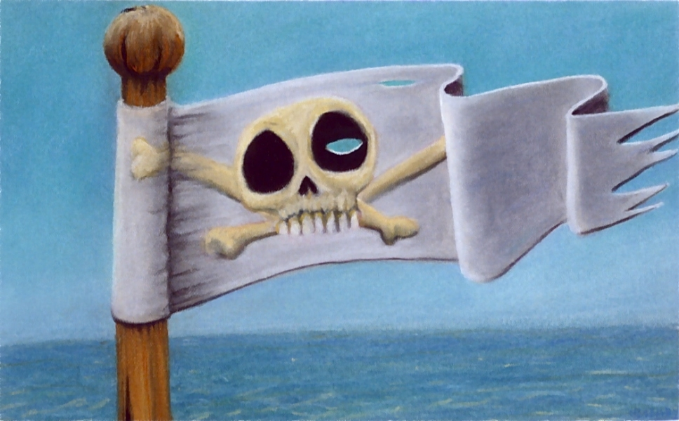 drawings jolly roger