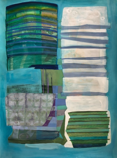 mary manning WORKS ON PAPER Mixed Media on Paper