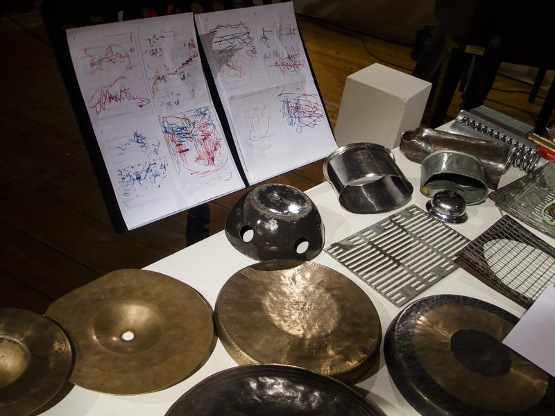 re-lay 2018 Elisabeth Flunger's percussion instruments, Echoraum, Vienna 2018