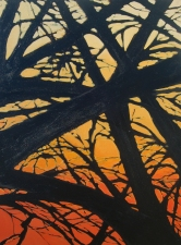 Mary Morant Tree Series Acrylic on linen