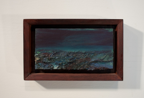 Images Ocean oil on panel