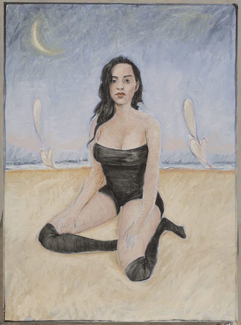 Paintings Anna Khachiyan at the Beach