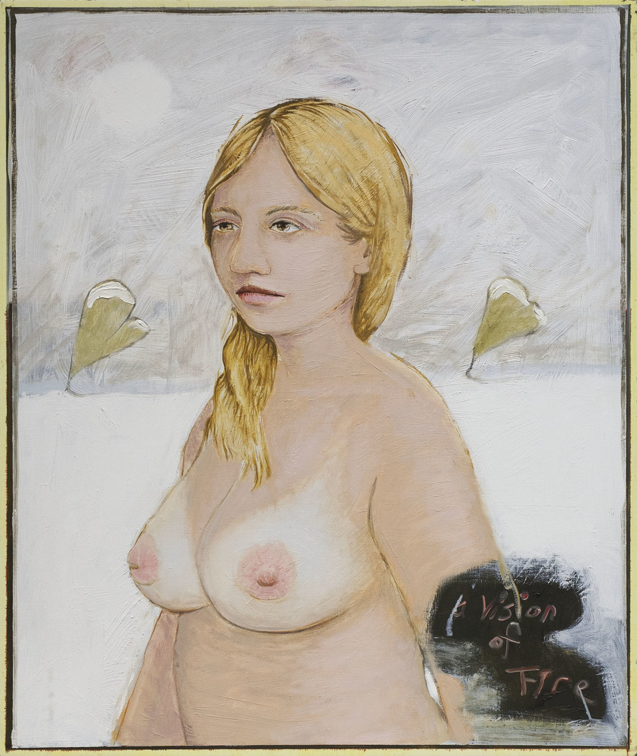 Paintings Woman with Large Breasts