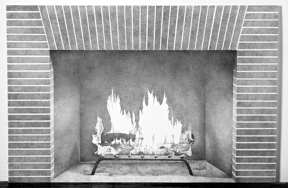 archives Fireplace (lifesize)